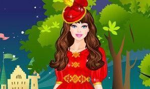 Original game title: Barbies Castle Dress Up