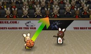 Original game title: Bunny B-Ball