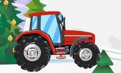 Kerstmis Tractor Parcours