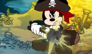 Original game title: Mickeys Pirate Plunder