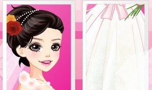 Original game title: Gorgeous Bride Dress Up