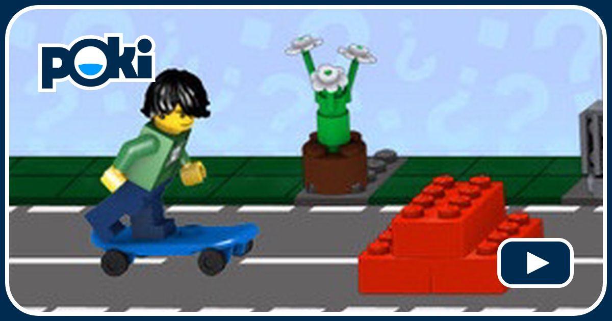 Street Skater Game - Lego Games - GamesFreak