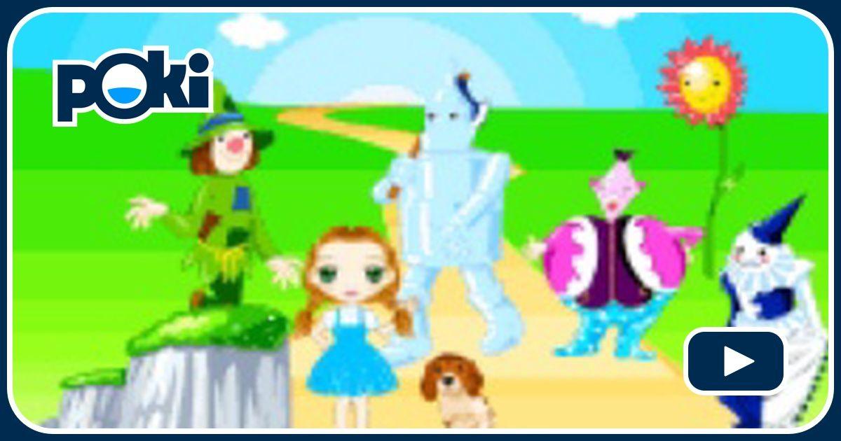 Decoraci n del mago de oz juega gratis en paisdelosjuegos - Juegos gratis de decoracion ...