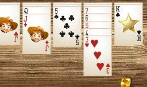 Original game title: Wild West Solitaire