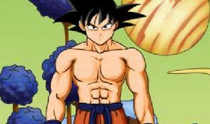 Original game title: Dragon Ball Dress Up 2