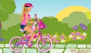 Original game title: Barbie & Me: Bike Game