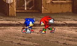 Street Fighter Sonic
