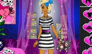 Emo Girl Dress Up Game