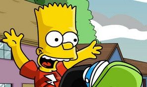 Original game title: Bart Simpson Skateboarding