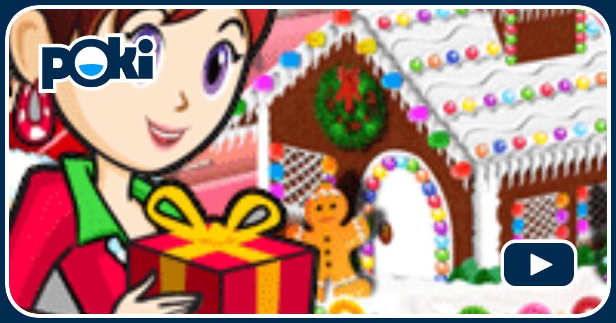 Gingerbread house sara 39 s cooking class - Jeux de spongebob cuisine ...