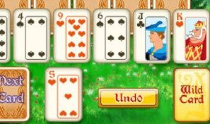 Original game title: Magic Towers Solitaire