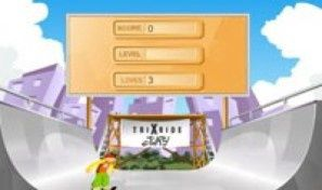 Original game title: Trix Ride