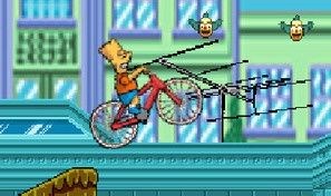 Bart On Bike