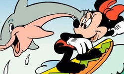 Mickey and Dolphin