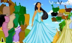 Pocahontas Dress Up