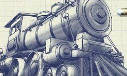 Železnice na Papíře