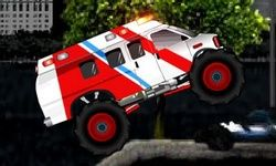 Sanitka Monster Truck