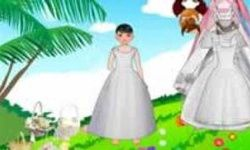 Palm Wedding Dress Up