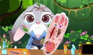 Zootopia Judy Foot Surgery