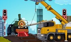 Railroad Crane Parking