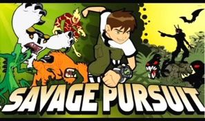 Original game title: Ben 10 Savage Pursuit