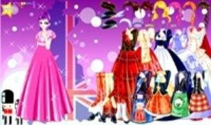 British Gown Dress Up