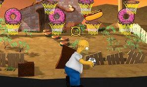 Original game title: Simpson Hoops
