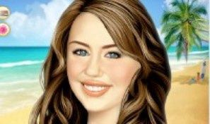 Original game title: Miley Cyrus Make-up