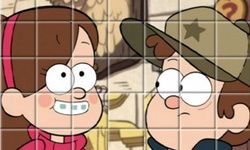 Gravity Falls Spin Puzzle