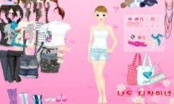 Pink Girl Dress Up