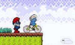Smurf BMX