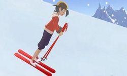 Ethan Pokemon Skiing