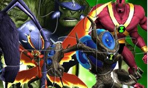 Original game title: Ben 10 Ultimate Alien Jigsaw