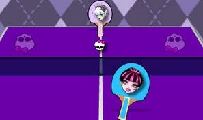 Original game title: Table Tennis Monster High