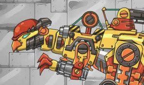 Original game title: Dino Robot Pachycephalosaurus