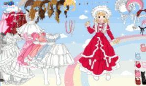 Original game title: Cute Gown Dress Up