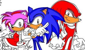 Super Sonic Coloring