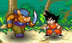 Original game title: Dragon Ball Fighting 1.8