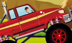 Original game title: Ben10 Monster Truck