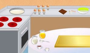 Cooking Choco Cake