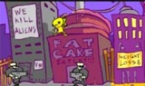 Original game title: Alien Booya