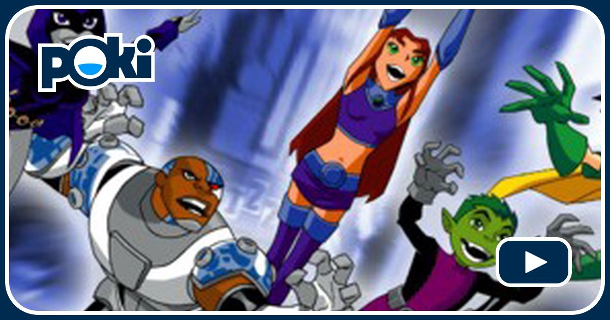 Teen titans games to play