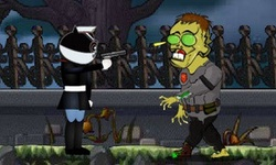 Cat Detective Vs Zombies