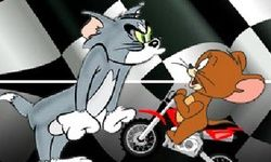 Tom And Jerry Motocross