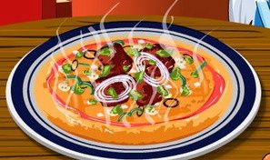 Original game title: Monster High Pizza Deco