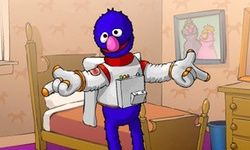 Grover Dress Up