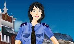Vestir a una Chica Policía