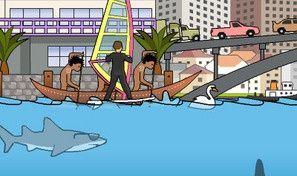 Original game title: Sydney Shark