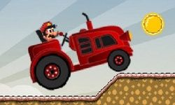 Tractor Mario Vs Bullet Bill