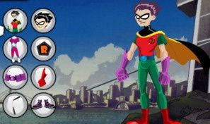 Original game title: Teen Titans Dress-Up